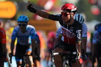 Grand Prix de l'Escaut Guillaume Boivin évite une chute et termine dans le top 25)