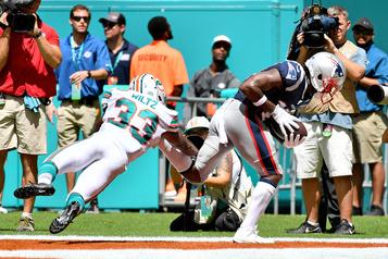 Les Patriots humilient les Dolphins 43-0