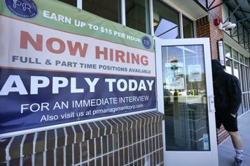 États-Unis Les inscriptions au chômage poursuivent leur recul)