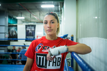Boxe: un nouveau casse-tête pour Kim Clavel
