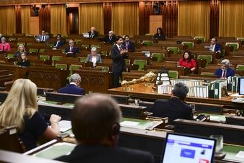 Discours du Trône Le gouvernement Trudeau devrait survivre grâce au NPD)