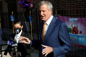 Réouverture des écoles Le maire de NewYork désavoué par un puissant syndicat)