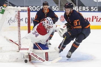 Marque finale Canadien1 - Oilers4)