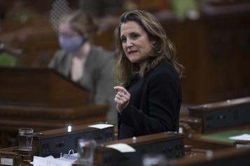 Mesures d'aide Le projet de loi des libéraux est officiellement déposé)