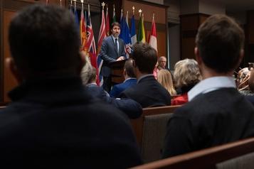 Justin Trudeau invite son caucus à travailler avec les députés d'opposition
