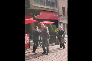 Ottawa Un journaliste victime d'une tentative d'«arrestation citoyenne»)
