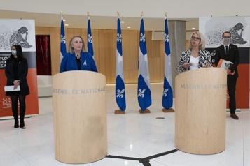 Réforme de l'IVAC  La transpartisanerie éclate à Québec)