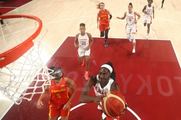 Basketball féminin Le Canada est éliminé en basketball féminin)