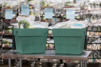 Goodfood lance une boîte réutilisable