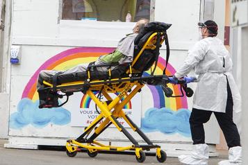 COVID-19: l'Hôpital de Saint-Eustache frappé par une éclosion)
