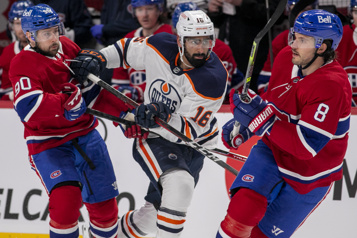 Marque finale (prol.) Oilers 4 - Canadien 3)