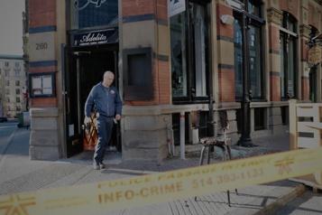 Une femme agressée et un restaurant incendié à Montréal)