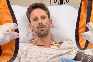 Accident au GP de Bahreïn Romain Grosjean croit que le halo lui a sauvé la vie)