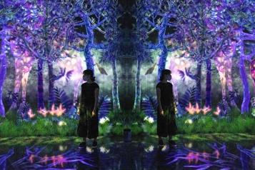Japon L'art et la nature s'unissent dans une exposition envoûtante)