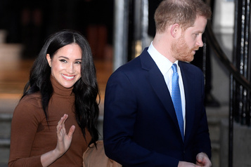 Harry et Meghan n'utiliseront plus l'appelation « Sussex royal »