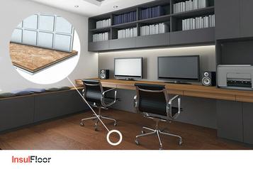 Insulfloor Bureau à domicile : Le secret pour un sous-sol sec et confortable)