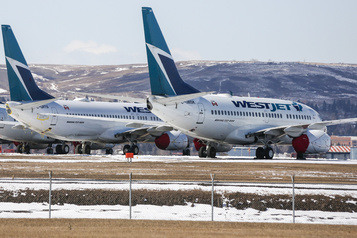 WestJet prolonge la suspension de vols jusqu'en mai