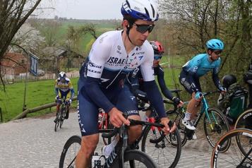 Tour de Romandie  Le coéquipier de Guillaume Boivin encore dans le coup pour la victoire d'étape)