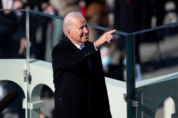 Joe Biden, 46eprésident «La démocratie l'a emporté» )