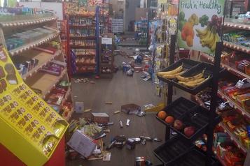 Rare tremblement de terre en Caroline du Nord)