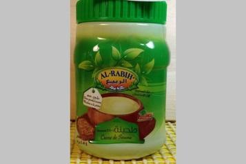 Une crème de sésame possiblement contaminée fait l'objet d'un rappel)