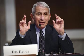 COVID-19: les États-Unis ne s'en sortent pas bien, répète le Dr Fauci)