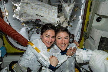Marcher sur la Lune, prochain rêve des femmes astronautes de l'ISS