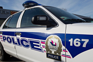 Deux policiers de Laval blessés dans une embardée
