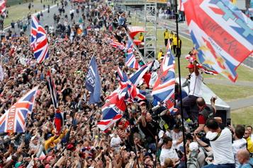 Formule 1 Le Grand Prix de Grande-Bretagne pourra accueillir 140000personnes)