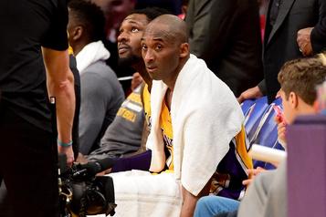 NBA: 33000dollars pour une serviette utilisée par Kobe Bryant lors de son dernier match