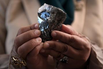 Un diamant hors norme trouvé au Botswana)