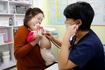La pneumonie tue un enfant toutes les 39secondes