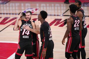 Le Heat à une victoire de passer en finale de la NBA)
