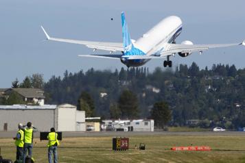 Premier vol pour le Boeing737-10, le plus gros des MAX )