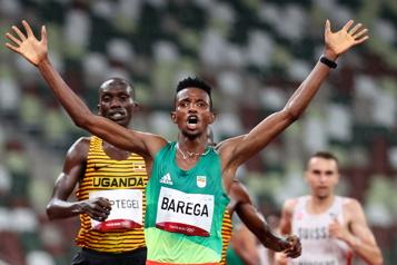 10000m Selemon Barega décroche le premier titre de l'athlétisme aux JO de Tokyo)