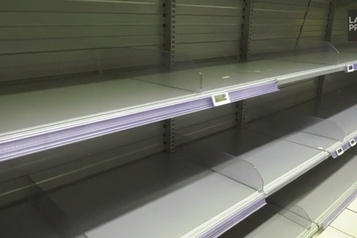 Les supermarchés se vident en Italie