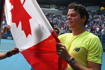 Australie: Milos Raonic en quête d'une première victoire contre Novak Djokovic