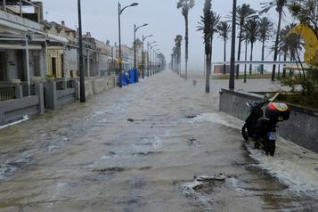 La tempête Gloria frappe l'Espagne