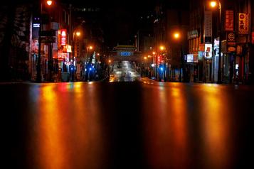 Mission photographique: pluie sur la ville)