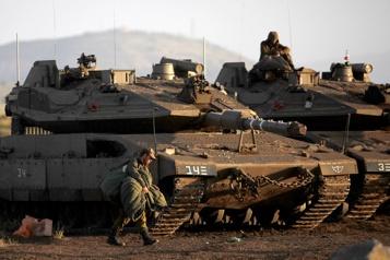 Des roquettes tirées depuis la Syrie visent Israël)