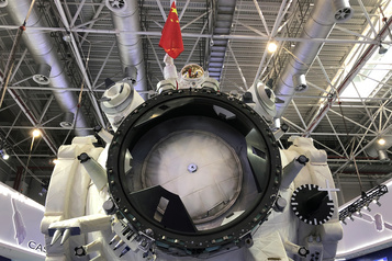 Le chef de la NASA s'inquiète de la future station spatiale chinoise)
