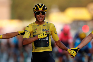 Egan Bernal couronné au Tour de France