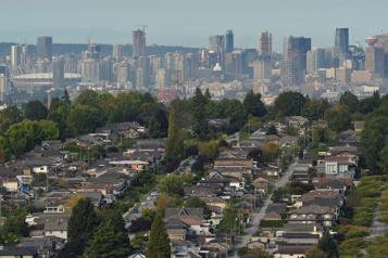 Bond de 73% des ventes de maison à Vancouver)