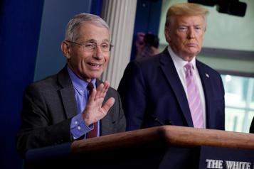 COVID-19: Trump «pas d'accord» avec l'analyse du DrFauci)
