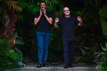 La crise stimule l'inventivité pour Dolce et Gabbana)