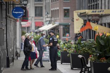 Vieux-Montréal Un niveau de violence «plus élevé», leSPVM se mobilise)