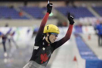 Le Canada remporte trois médailles en longue piste