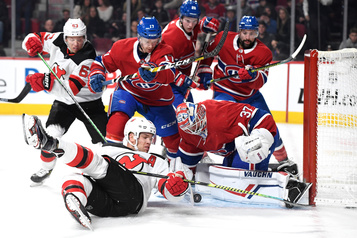 Devils 4 - Canadien 3 (pointage final)