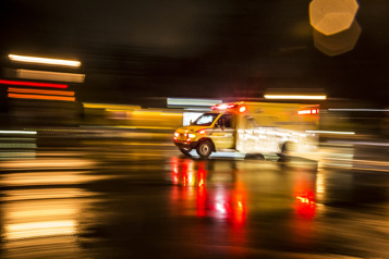 Val-d'Or Trois blessés dans une collision frontale impliquant une auto-patrouille)