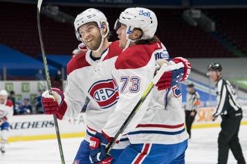 Canadien - Canucks Quatre trios efficaces… chacun leur tour)